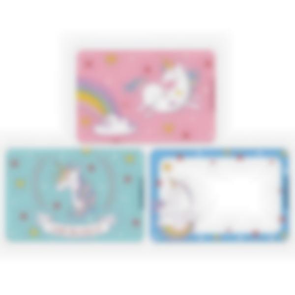 Recarga de 3 cartões magnéticos para Ludibox – lancheira – Unicórnio