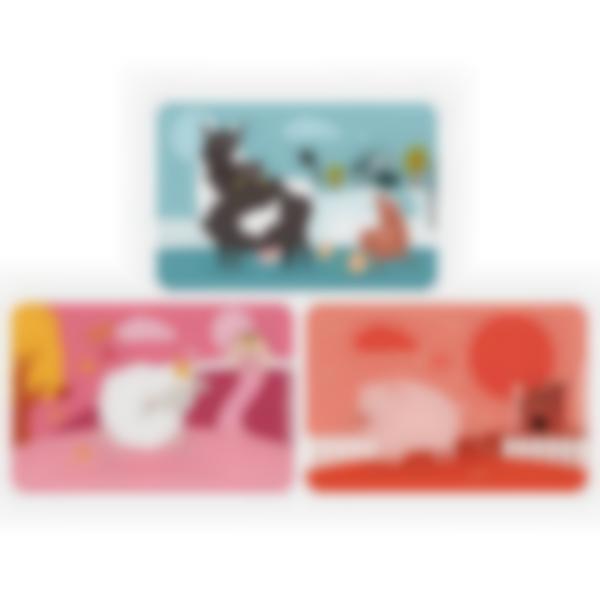 Recarga de 3 cartões magnéticos para Ludibox – lancheira - Animais Da Quinta