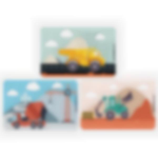 Recarga de 3 cartões magnéticos para Ludibox – lancheira - Construção