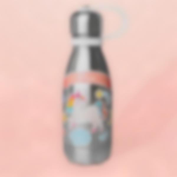 Autocolantes para decorar garrafa de água - Unicórnio