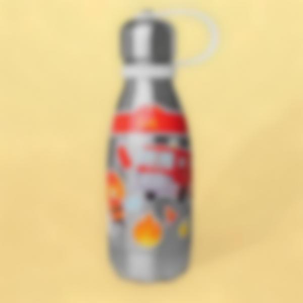Autocolantes para decorar garrafa de água - Bombeiro