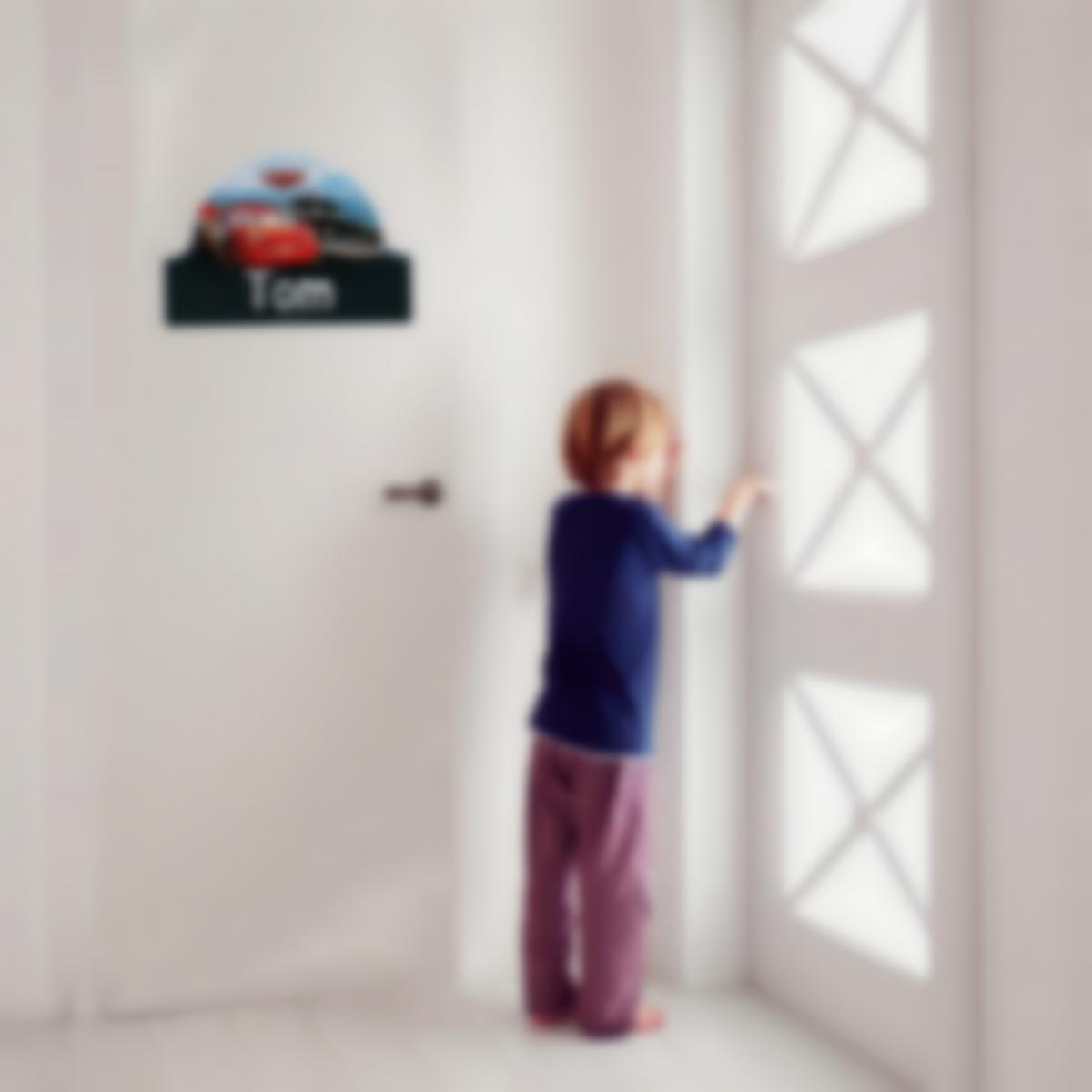 Adesivos personalizados para portas infantil - Disney Cars 3