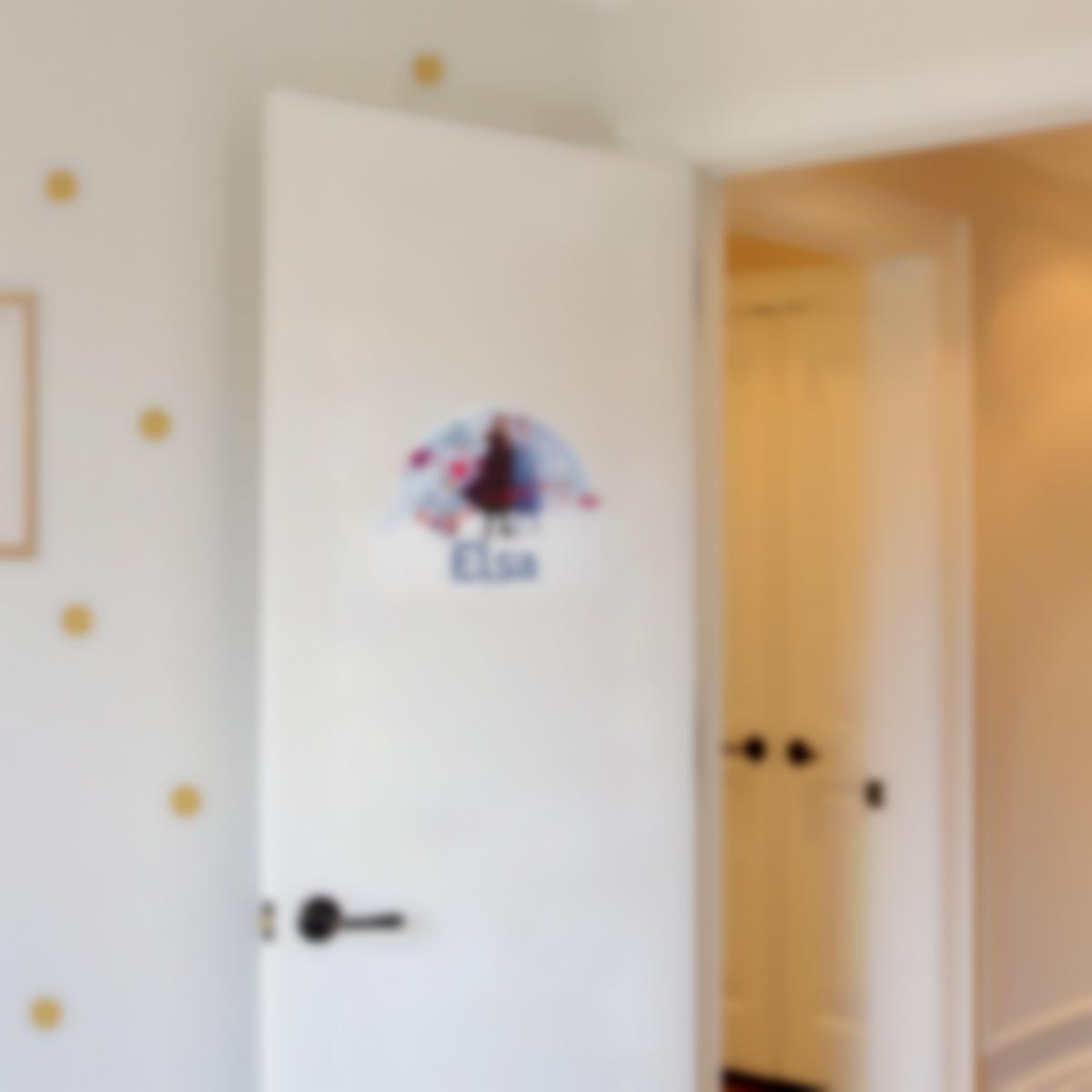 Adesivos personalizados para portas infantil - Frozen 2