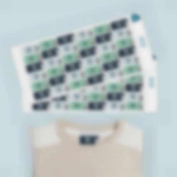Etiquetas autocolantes Ludisticks para roupa