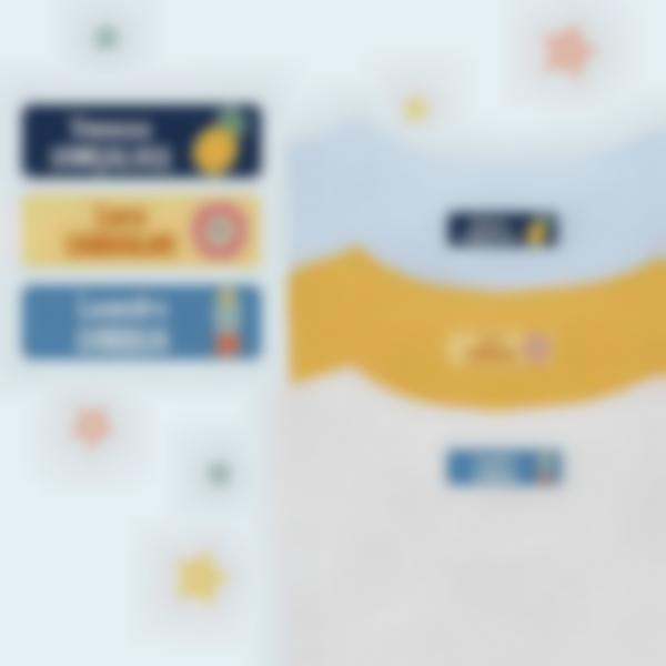 Etiquetas Termoaderentes para Roupa - Personalização Múltipla