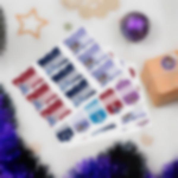 Etiquetas de presentes de Natal - Frozen Uma Aventura de Olaf