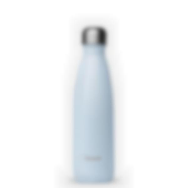 Garrafa isotérmica Pastel Azul 500ml - Qwetch