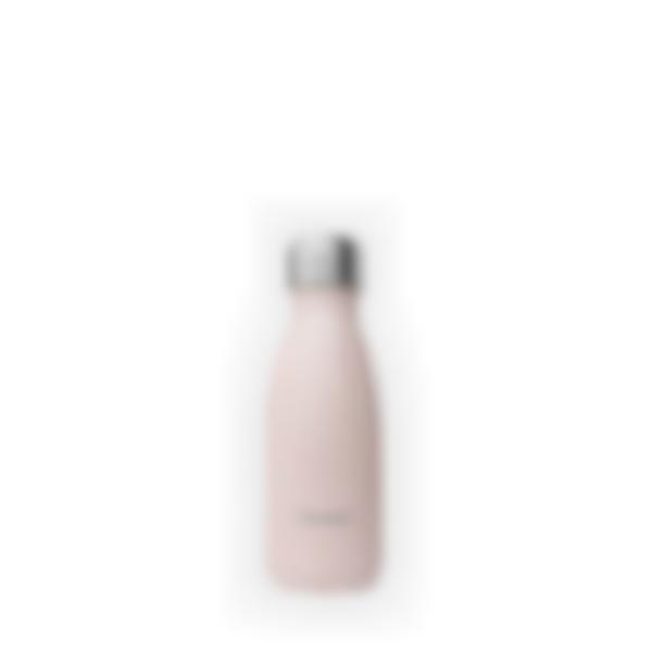 Garrafa isotérmica Pastel rosa - 260ml - Qwetch