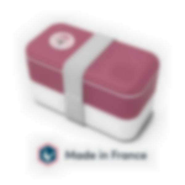 Lancheira Bento adultos - Rosa Blush - MB Original Monbento - Made in France