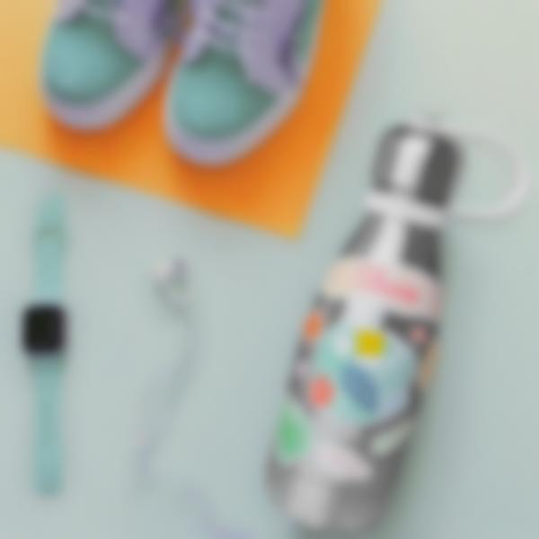 Autocolantes para decorar garrafa de água