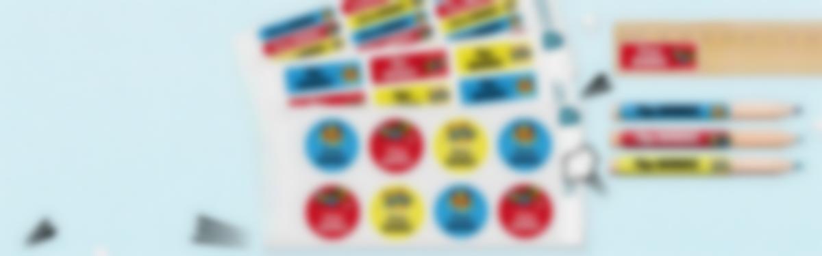 Etiquetas para o Regresso às Aulas