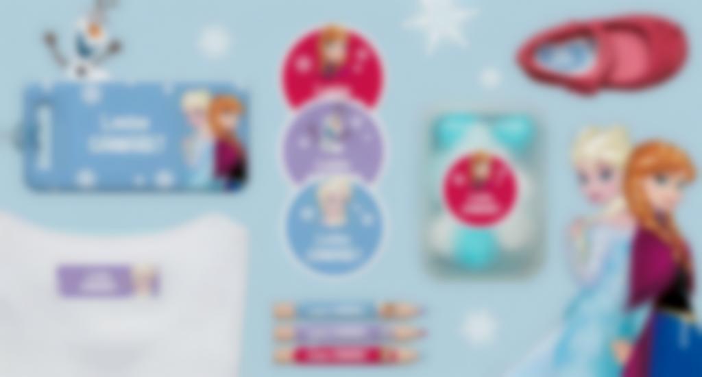 TEtiquetas Raínha da Neve ! Frozen 1
