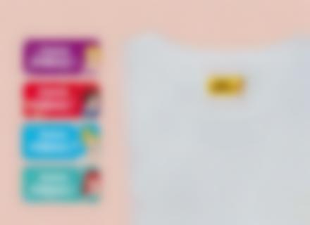 As Princesas Disney nas nossas etiquetas