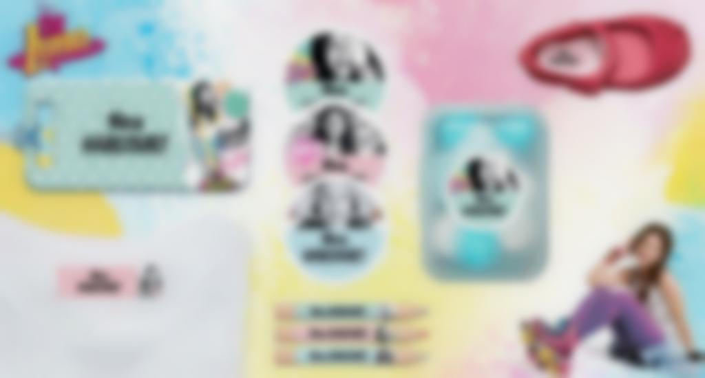 Toutes nos formats d'étiquettes à l'effigie de Soy Luna
